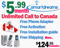 Smart Dreams Home Phone Service in Canada/