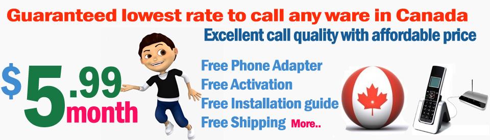 Smart Dreams Home Phone Service in Canada/
